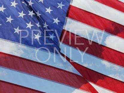 AMERICAN FLAG BLUE SKIES STILL