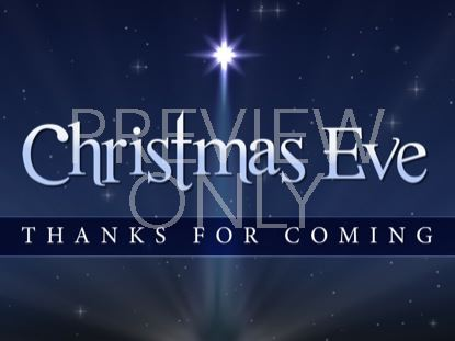 CHRISTMAS EVE CLOSING STILL