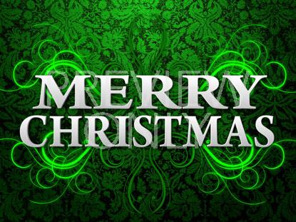 GREEN CHRISTMAS STILL