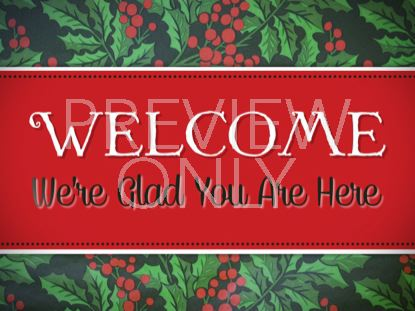 HOLLY WELCOME STILL