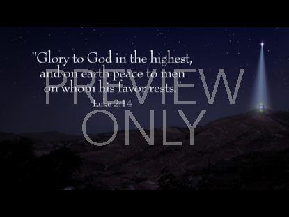 LUKE 2:14 STILL