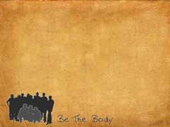 BE THE BODY STILL 3