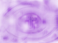 PURPLE LIGHT CROSS SWIRL