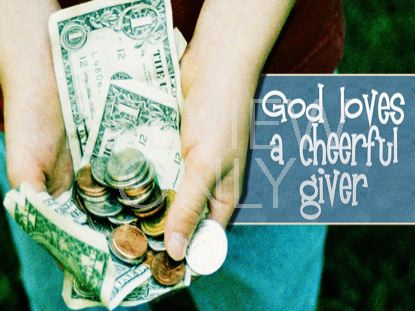 CHEERFUL GIVER
