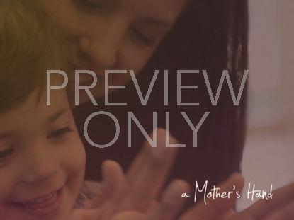 A MOTHER'S HAND BLANK STILL 02
