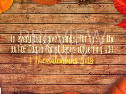 GRATITUDE SCRIPTURE STILL
