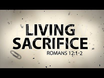 LIVING SACRIFICE TITLE STILL