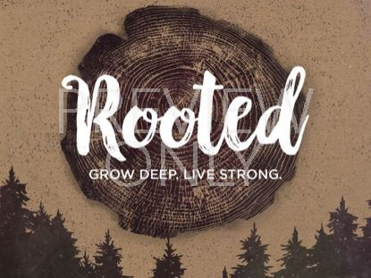 ROOTED TITLE SLIDE