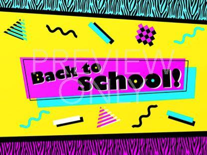 90'S RETRO BACK TO SCHOOL STILL