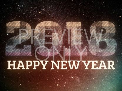 BRIGHT SQUARES NEW YEAR 2018