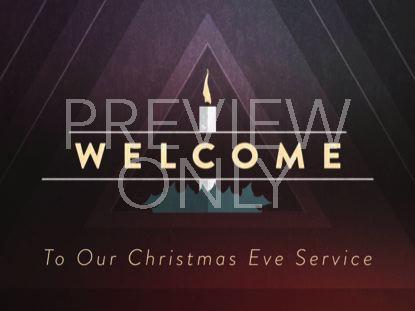 CHRISTMAS CANDLES CHRISTMAS EVE