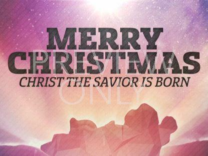 CHRISTMAS SKY MERRY CHRISTMAS 01 STILL