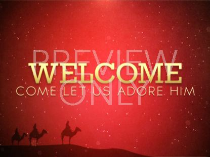 CHRISTMAS WELCOME 1