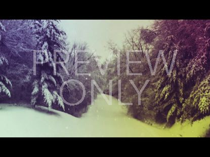 FOREST SNOW VINTAGE WORSHIP STILL