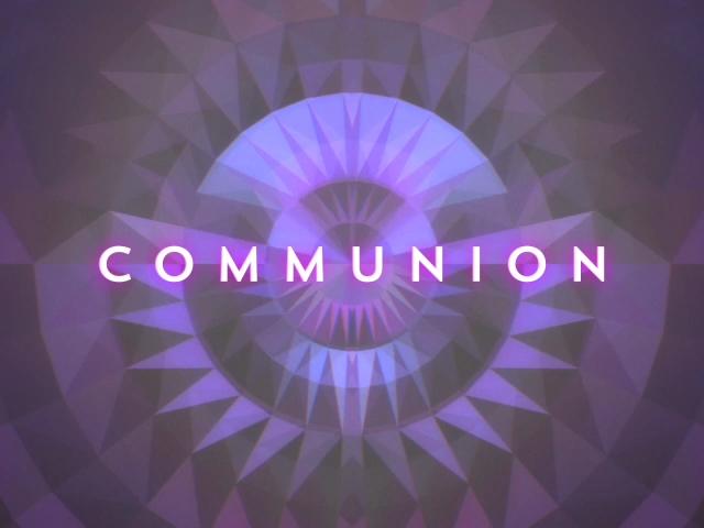 GEOMETRIC GLOW COMMUNION 01 STILL