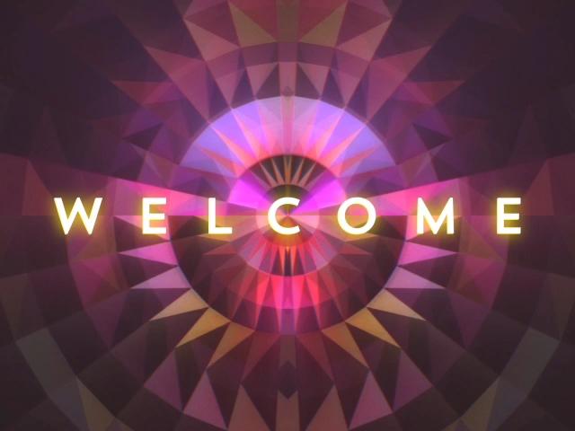GEOMETRIC GLOW WELCOME STILL