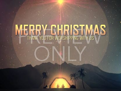 MERRY CHRISTMAS CLOSING