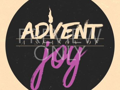 MODERN ADVENT TITLE JOY