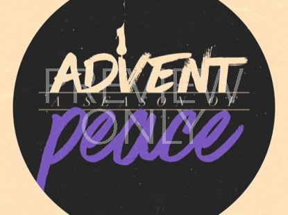 MODERN ADVENT TITLE PEACE