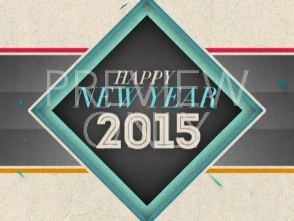NEW GEOMETRIC NEW YEAR 2015 STILL