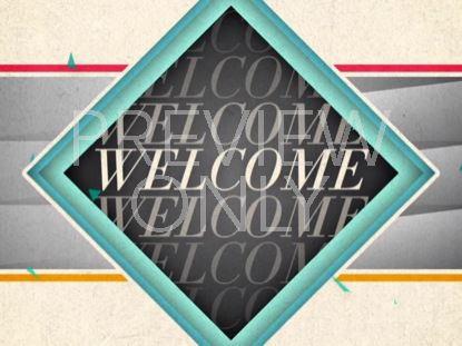 NEW GEOMETRIC WELCOME STILL