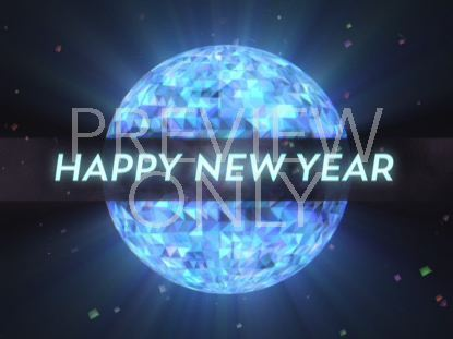 NEW YEARS GLOW HAPPY NEW YEAR