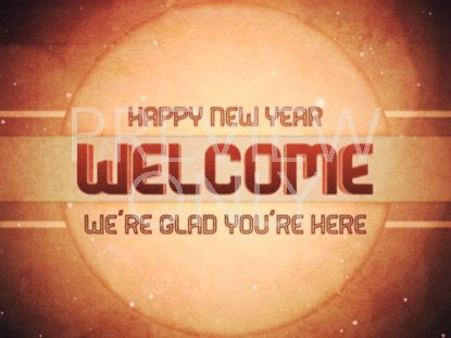 NEW YEAR WELCOME