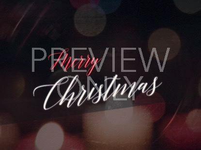 NIGHTTIME CHRISTMAS MERRY CHRISTMAS STILL