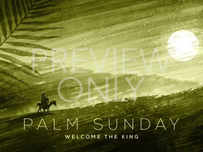 PAINTED PALM SUNDAY TITLE 01