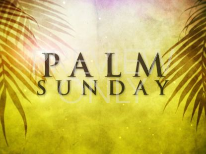 PALM SUNDAY TITLE
