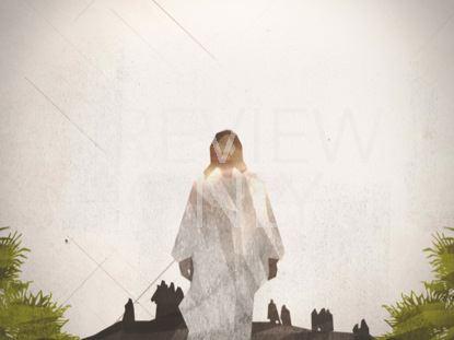 PALM SUNDAY WORSHIP CROWD STILL