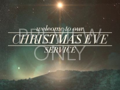 PEACEFUL CHRISTMAS EVE SERVICE WELCOME STILL
