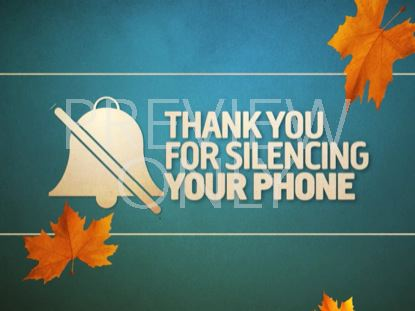 SILENCE YOUR PHONE (FALL) 01
