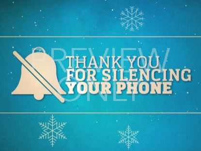 SILENCE YOUR PHONE (WINTER) 01