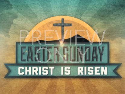 VINTAGE EASTER SUNDAY TITLE STILL
