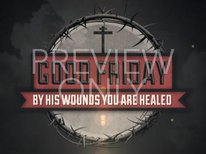 VINTAGE GOOD FRIDAY TITLE STILL