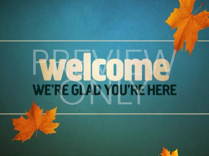 WELCOME FALL 01