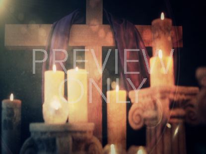 EASTER CANDLE STILL 4