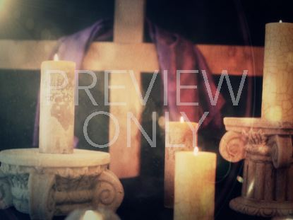 EASTER CANDLE STILL 5