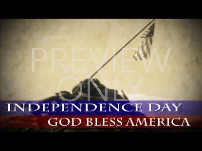 GOD BLESS AMERICA 4 STILL BLANK
