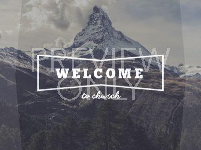 SINGLE MOUNTAIN WELCOME