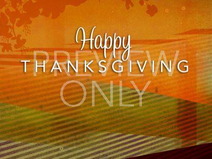 STRIPY THANKSGIVING