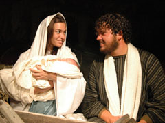 JOSEPH AND MARY - MANGER 2