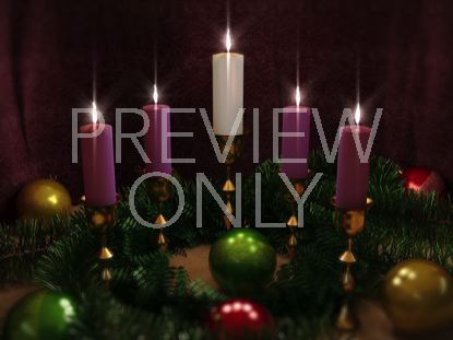 ADVENT CANDLES FIVE
