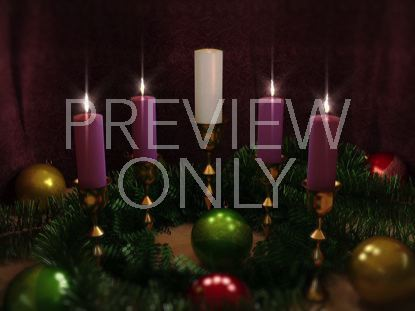 ADVENT CANDLES FOUR