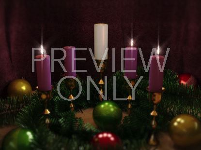 ADVENT CANDLES THREE