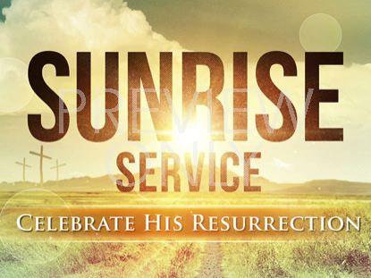 EASTER SUNRISE SERVICE STILL