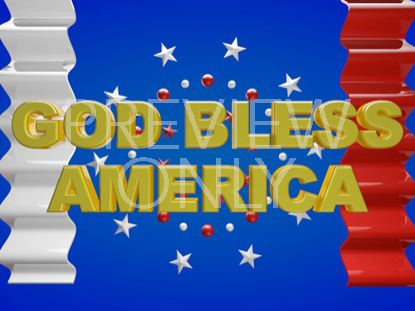 GOD BLESS AMERICA STILL
