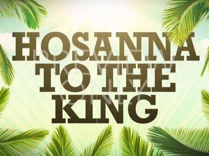 HOSANNA TO THE KING STILL