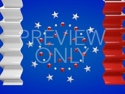 PATRIOTIC STARS AND STRIPES STILL 1